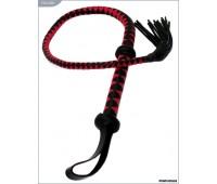 Плеть однохвостая, чёрно-красная, 112 см